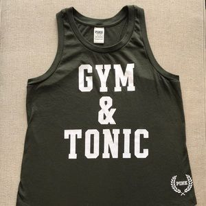 Victoria Secret Pink Gym & Tonic Racerback Tank